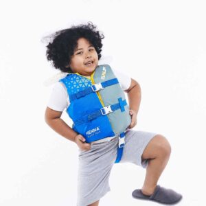 Life jacket for plus size child