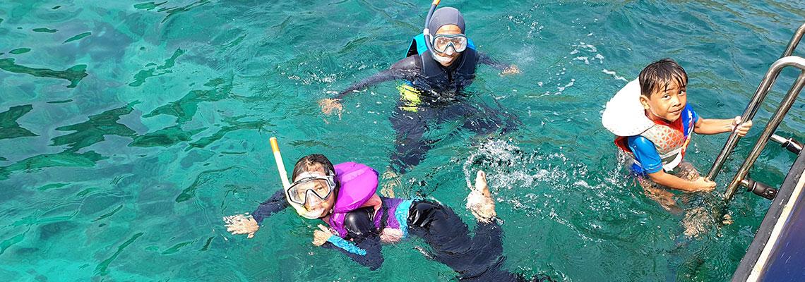 Sauf Asia-Kids Life Jacket-Redang Island Trip