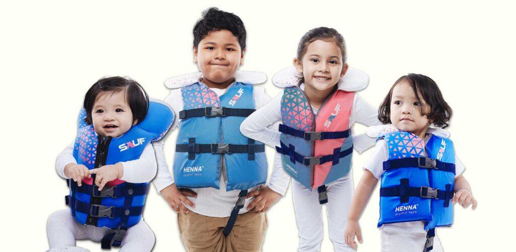 Sauf Kid Life Vest-Size & Fit