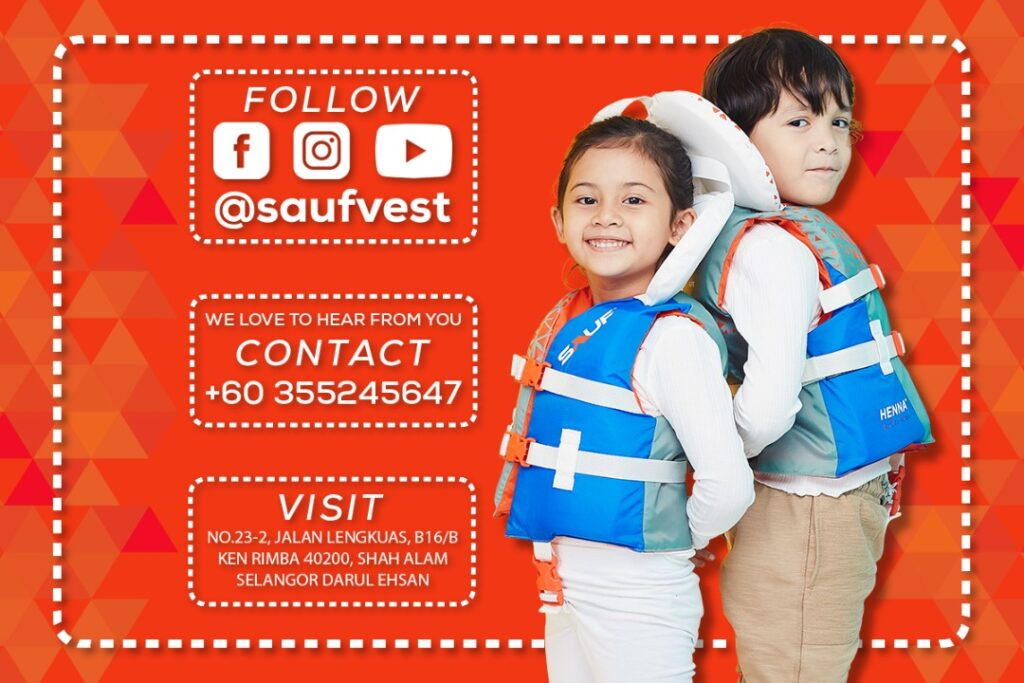 Sauf Vest - Life vest for kids